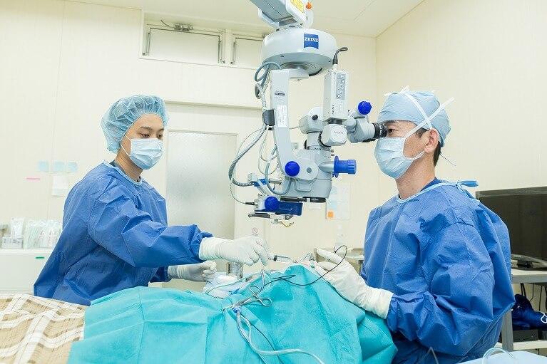 いのまた眼科の手術室